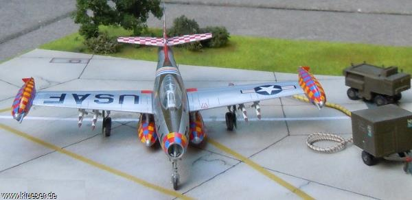 North American F84E Thunderjet
