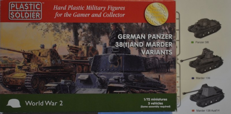 German Panzer 38(t) and Marder variants